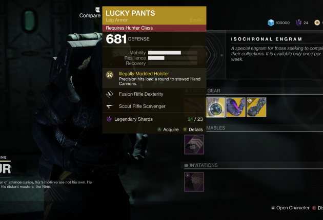 Lucky Pants for Hunters