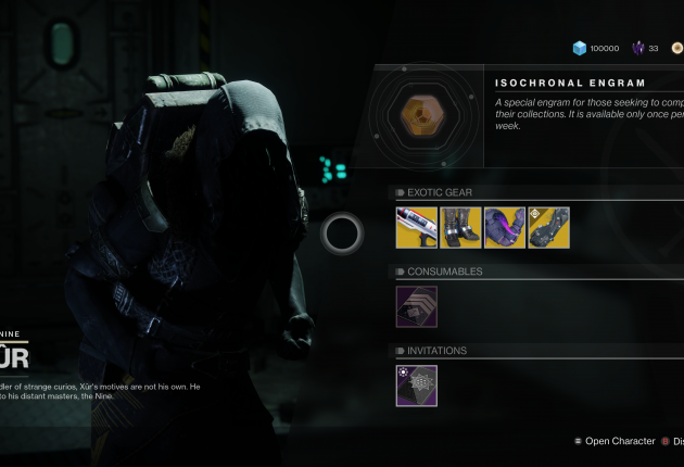 Xur is located off the Rig on Titan.
