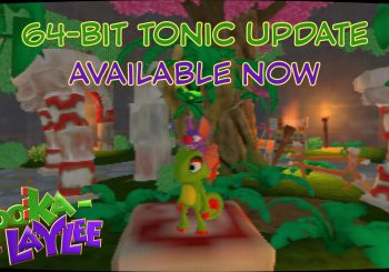 Yooka-Laylee Adds a 64-Bit Mode for Switch & PC