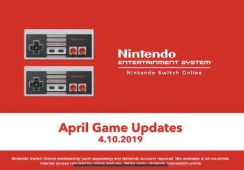 Games Added to Nintendo Switch Online - April 2019