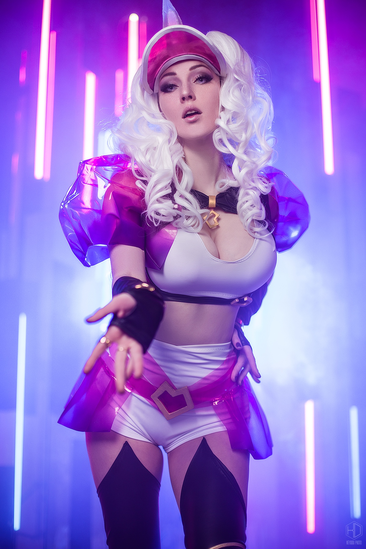 Kate Smirnova – KDA Soraka – League of Legends 7