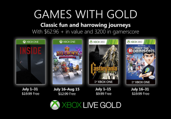 July Games with Gold offers $62.96 of value