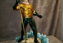Aquaman Rises On King of Statues Episode 16