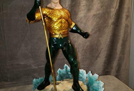 Aquaman Rises On King of Statues Episode 16