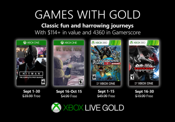 September Games with Gold offers $114+ of value