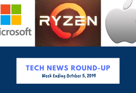 Tech News Round-up for week ending October 5, 2019