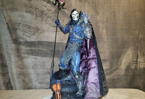 Skeletor Scares On King Of Statues 32