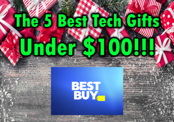 Best Five Tech Gifts Under $100 at Best Buy Black Friday
