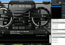 How to add an On Screen Display with MSI Afterburner