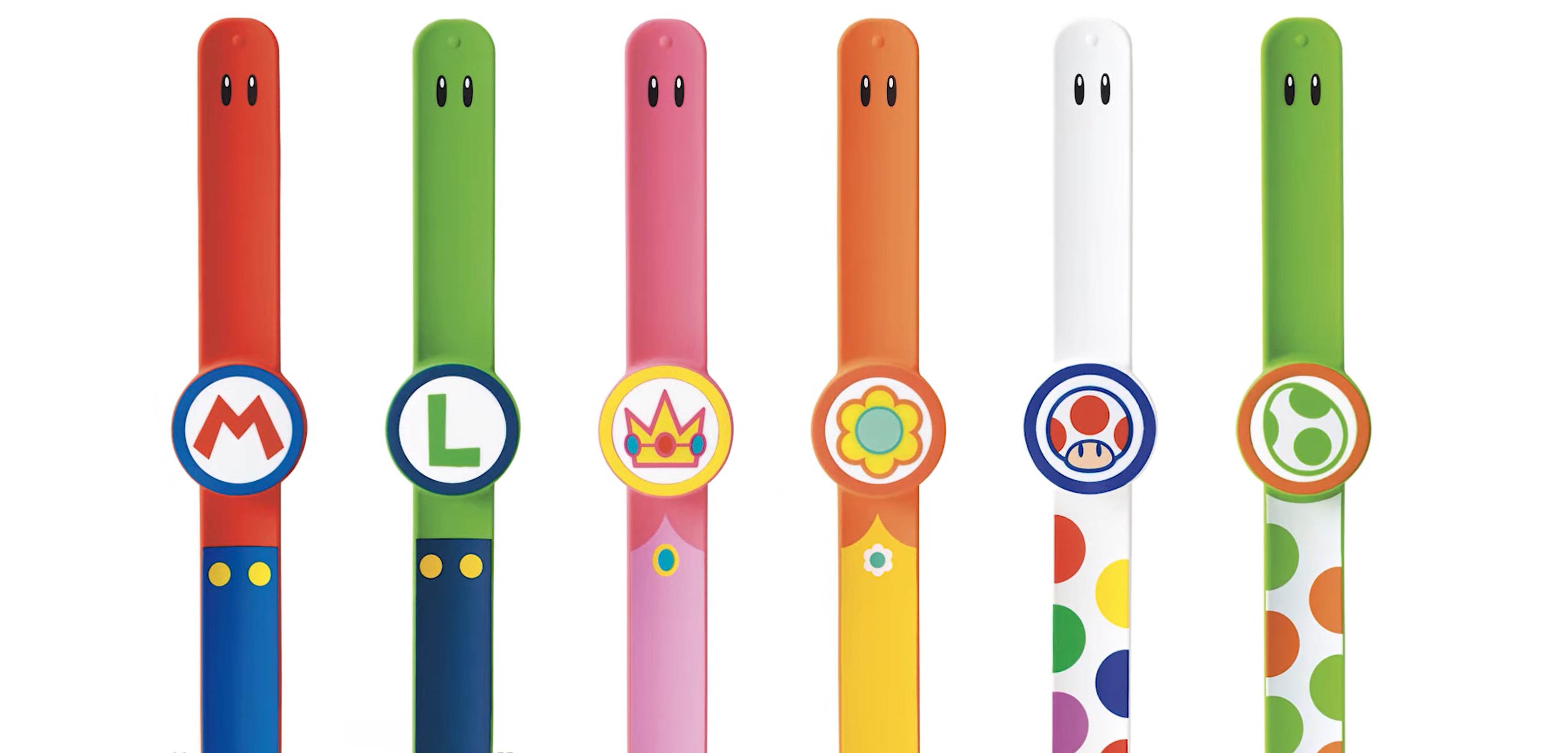 Mario Park Wristbands