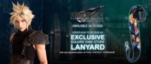 Final Fantasy VII Remake Lanyard Pre-order Bonus (Square Enix)