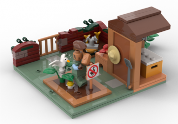 Untitled Goose Game Lego Set Could HONK It's Way To Stores With Your Help