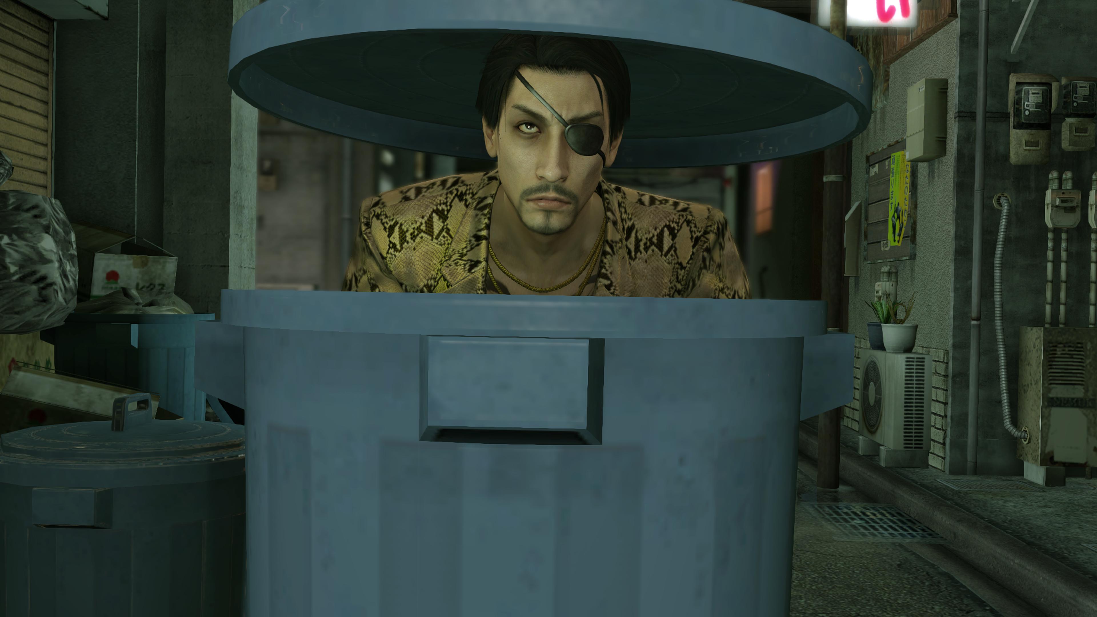 Yakuza Trash Can