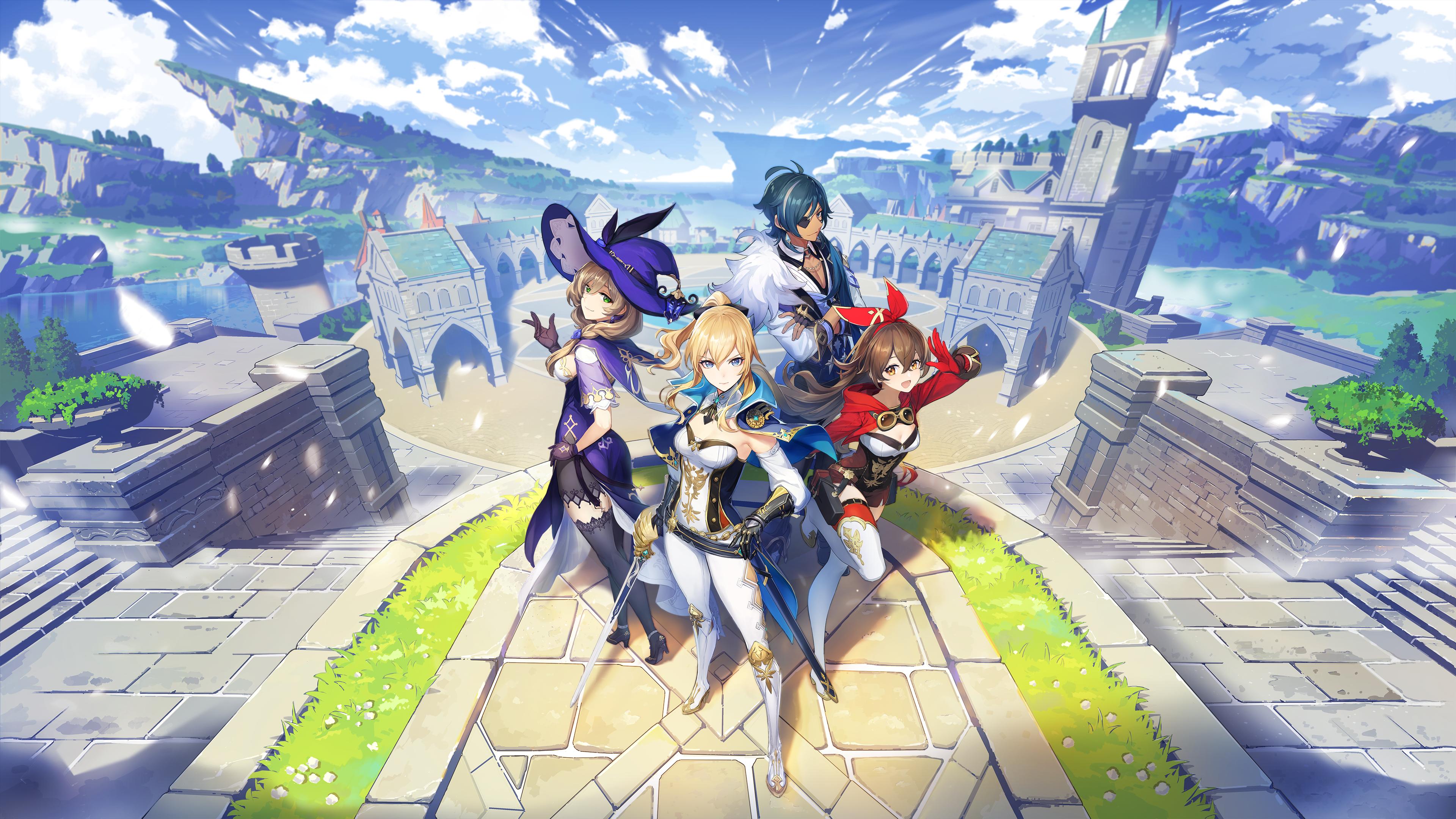 Genshin Impact Final Closed Beta Ps4 Gameplay Lords Of Gaming