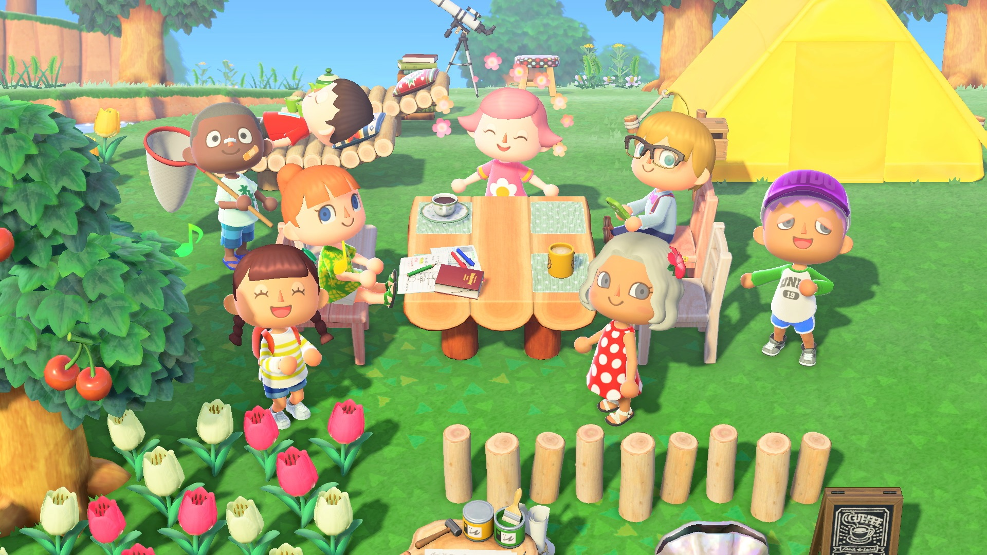 Animal Crossing online