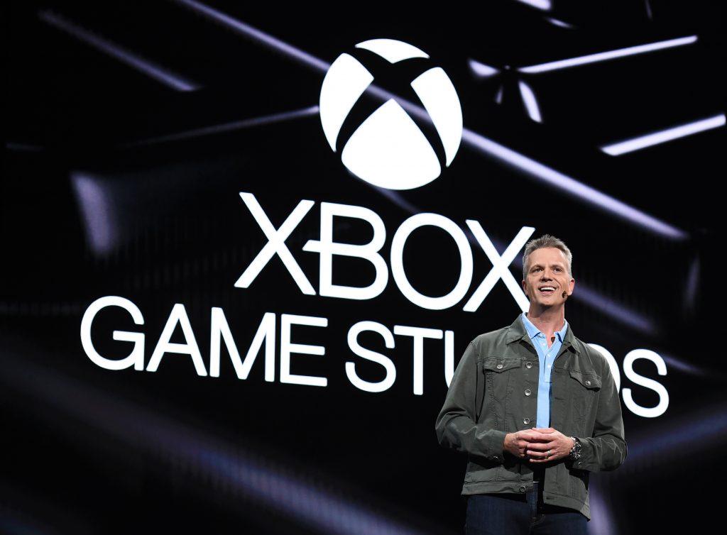 Microsoft's Matt Booty at Xbox's E3 2019 presentation