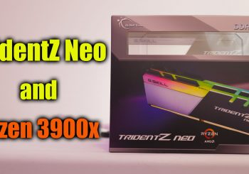 TridentZ Neo Memory Upgrade and Review