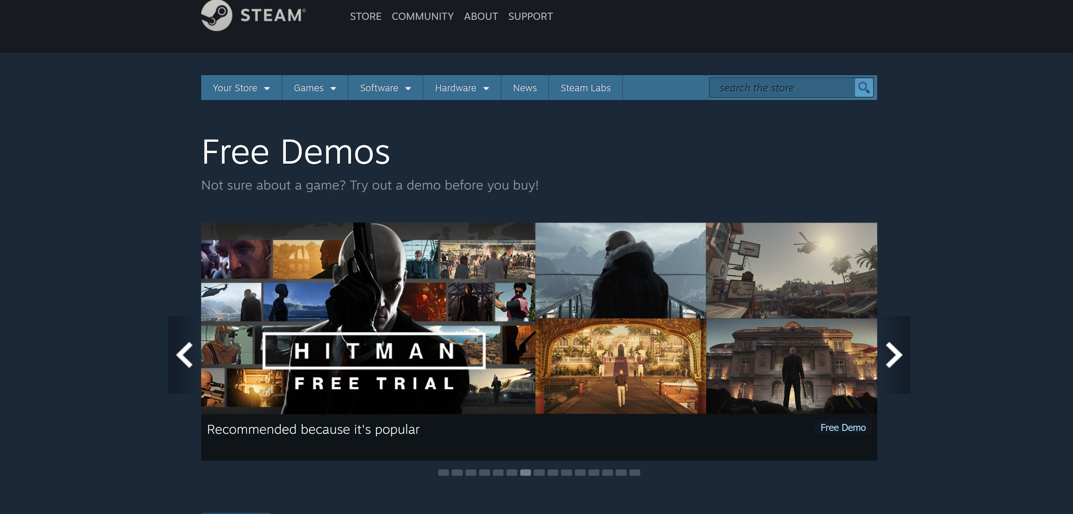 Steam Demos