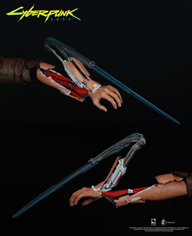 Cyberpunk 2077 Statue V-Boy-Arm