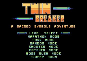 "Twin Breaker: A Sacred Symbols Adventure ""Breaking Bricks And Taking Names"""