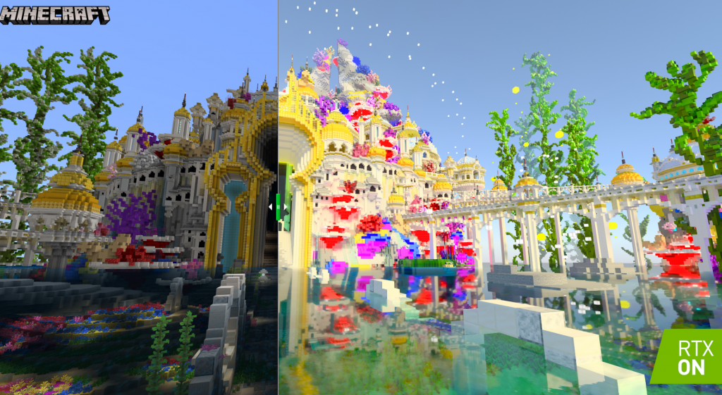 Ray Traced Minecraft