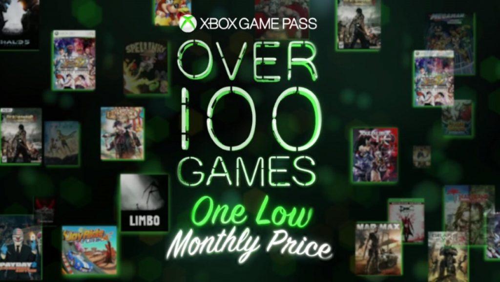 Xbox Game Pass Graphic