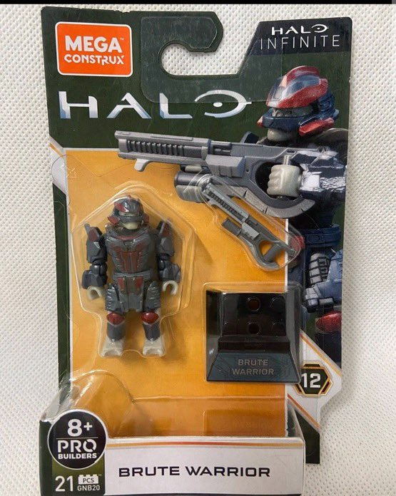 Halo Infinite Brute Toy