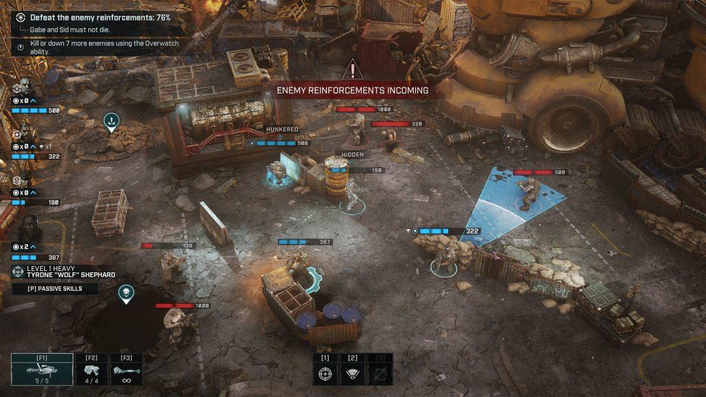Gear Tactics Gameplay 1