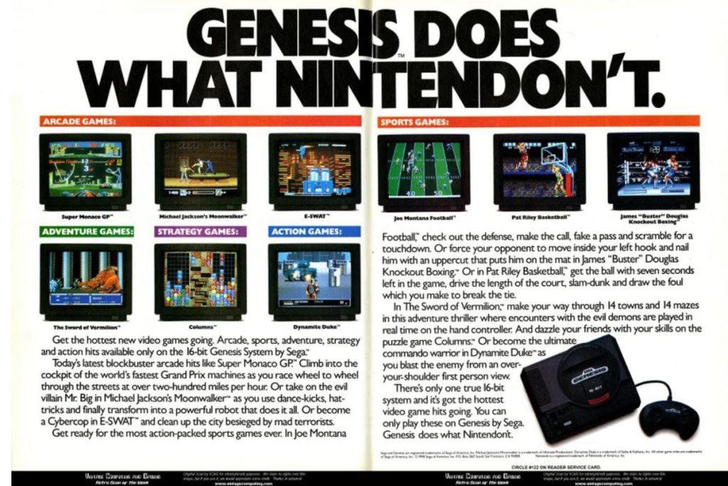 Console War Golden Generation