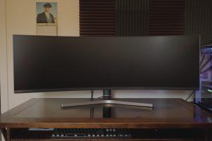 samsung crg9 display