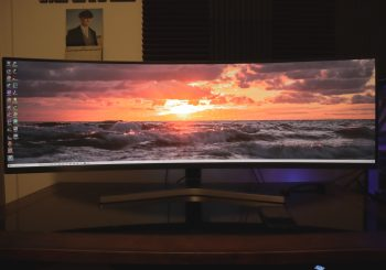 """Samsung CRG9 49"""" Ultra-Wide Gaming Monitor: Initial Impressions"""