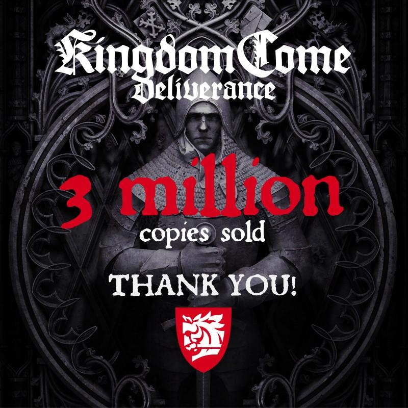 Kingdom Come Deliverance thank you