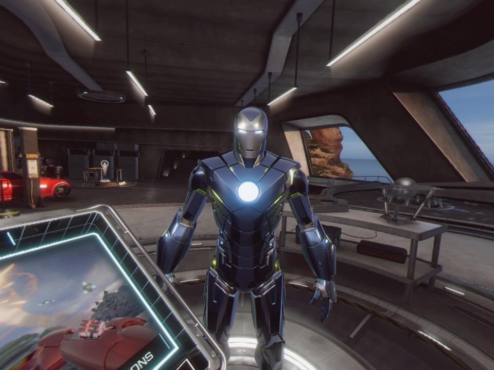 Iron Man VR Suit
