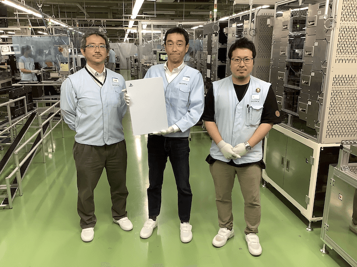 PS5 production factory