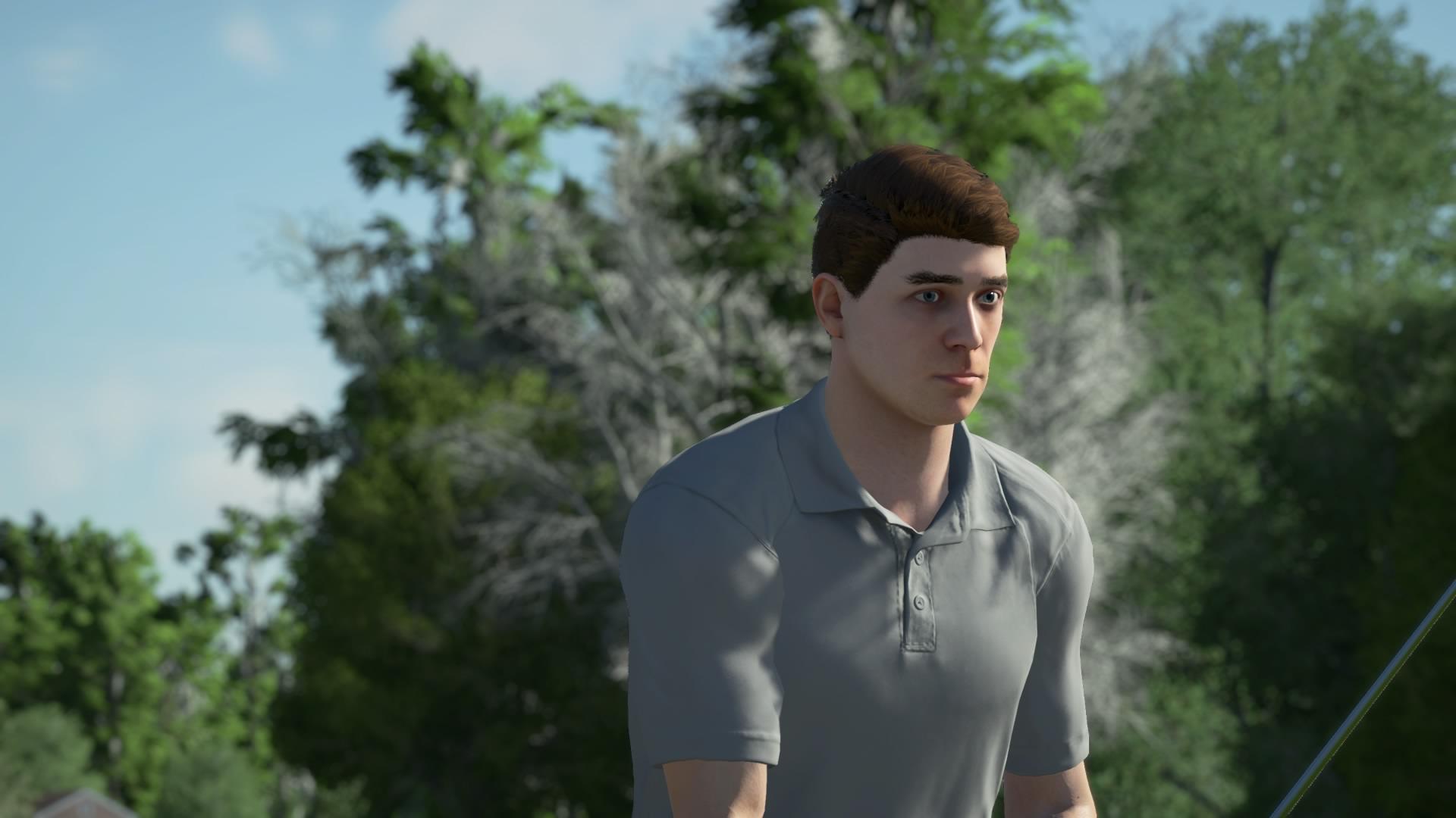 PGA Tour 2K21 rigid animations