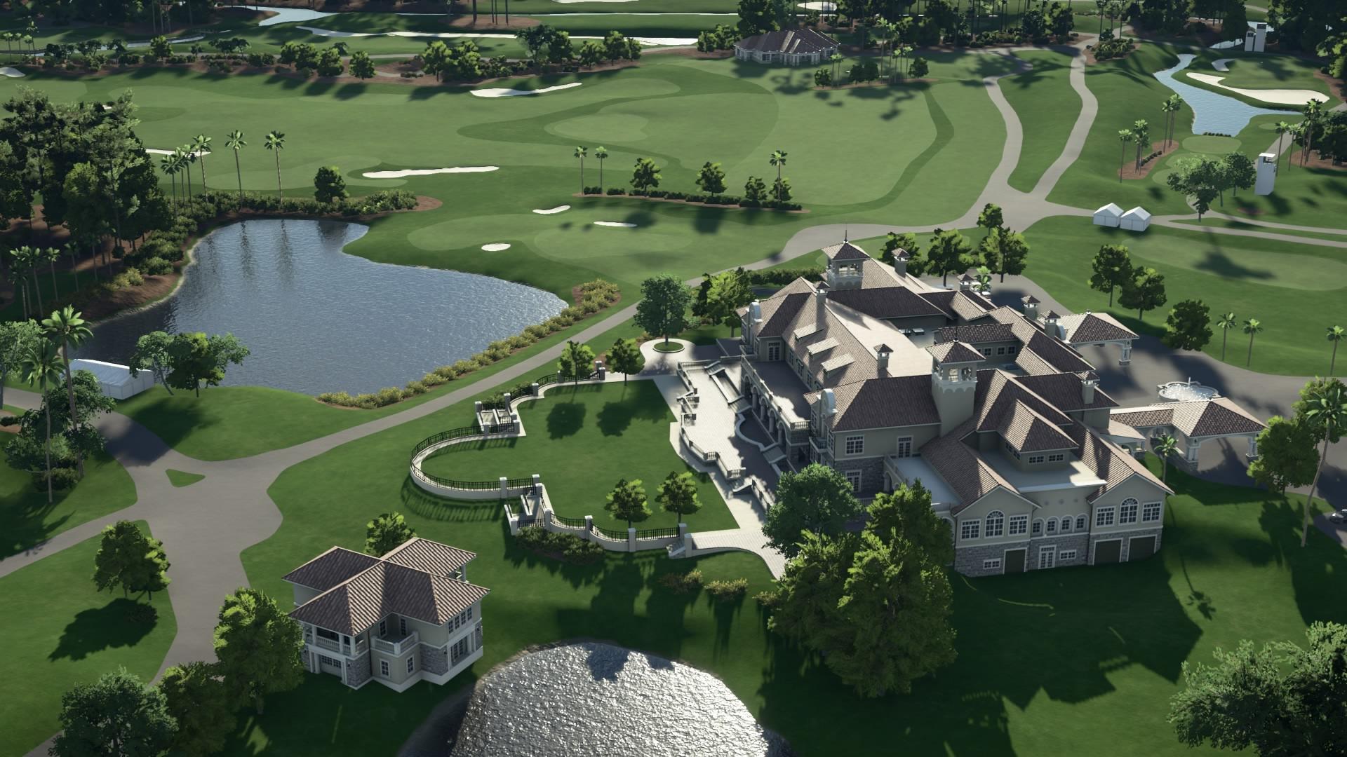 PGA Tour 2K21 golf course