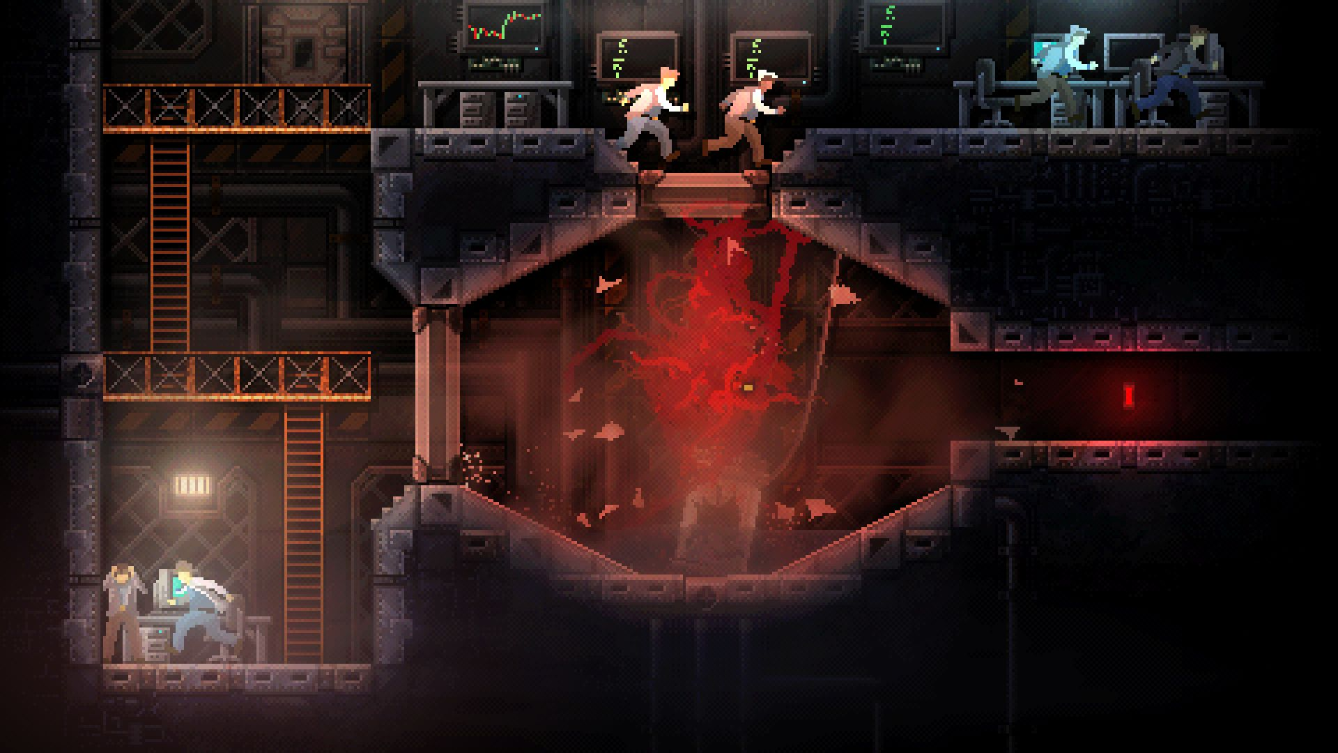 Carrion Review It S Good To Be Evil Lords Of Gaming