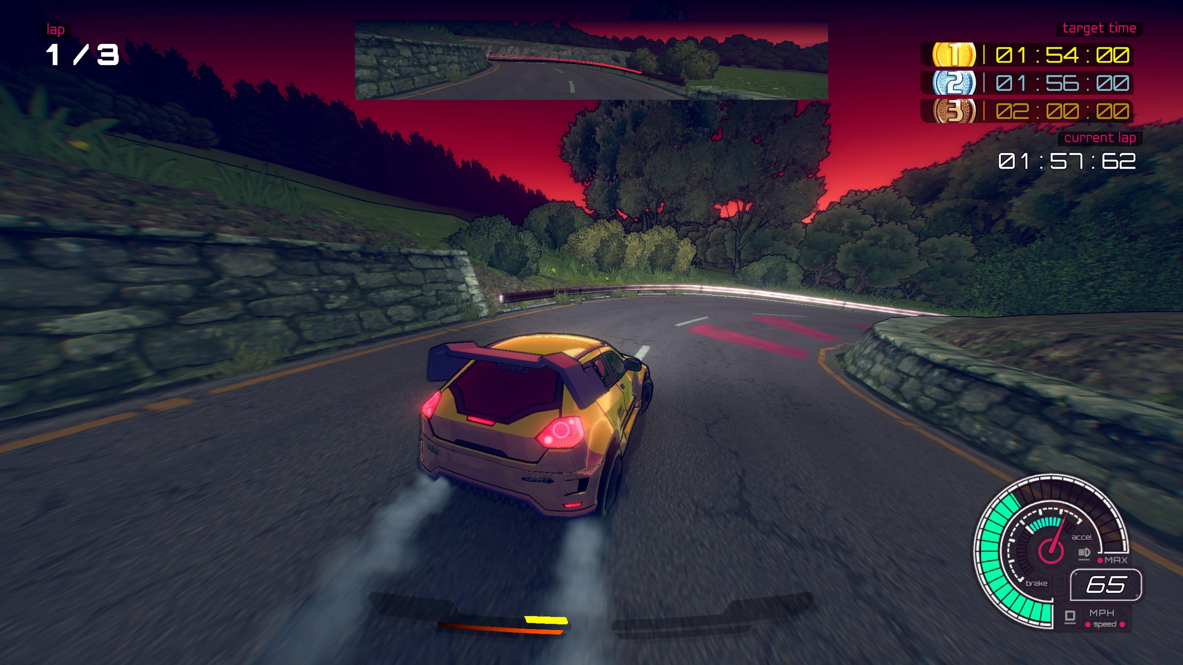 Inertial Drift Race UI