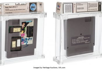 Super Mario Bros. 3 Prototype Sells For Over $31,000