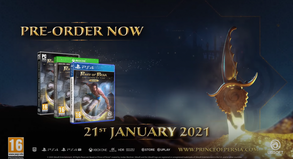 Prince of Persia: The Sands Of Time Remake Ubisoft India