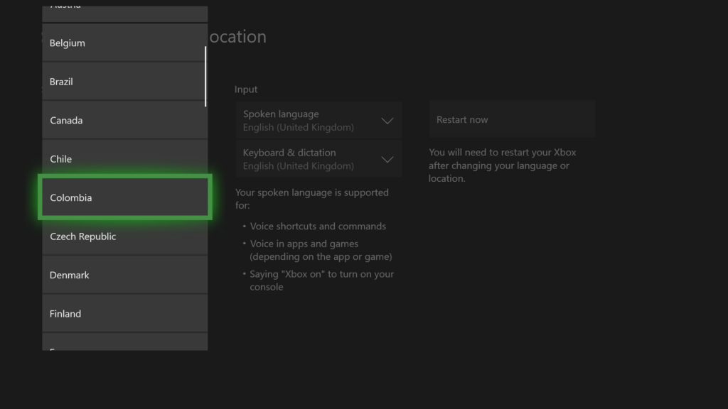 Xbox regional availability