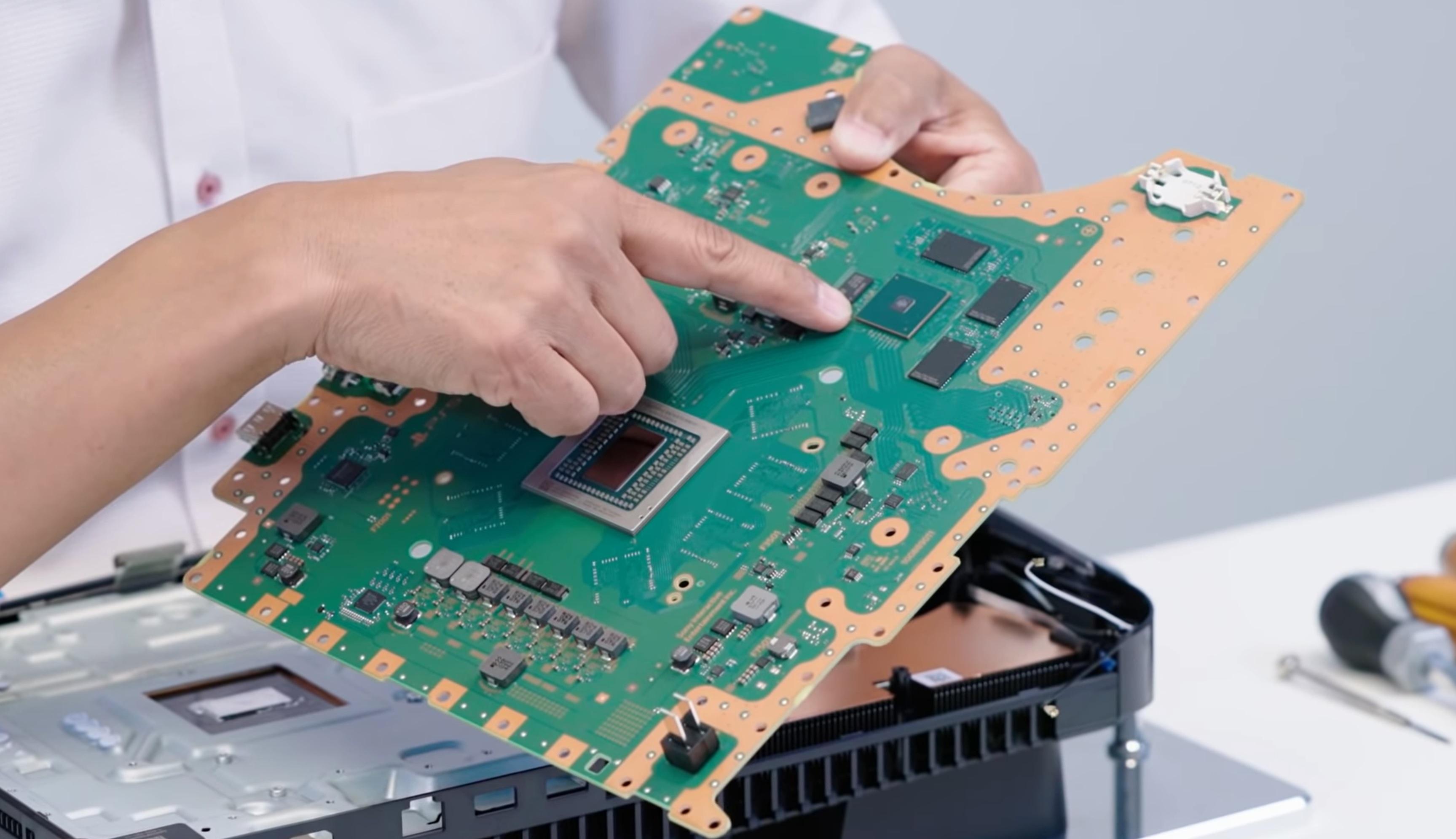 Custom SSD PS5 Reverse Side