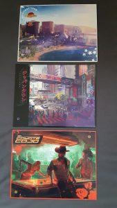 Cyberpunk 2077 Postcards