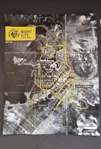 CyberPunk 2077 Map Insert