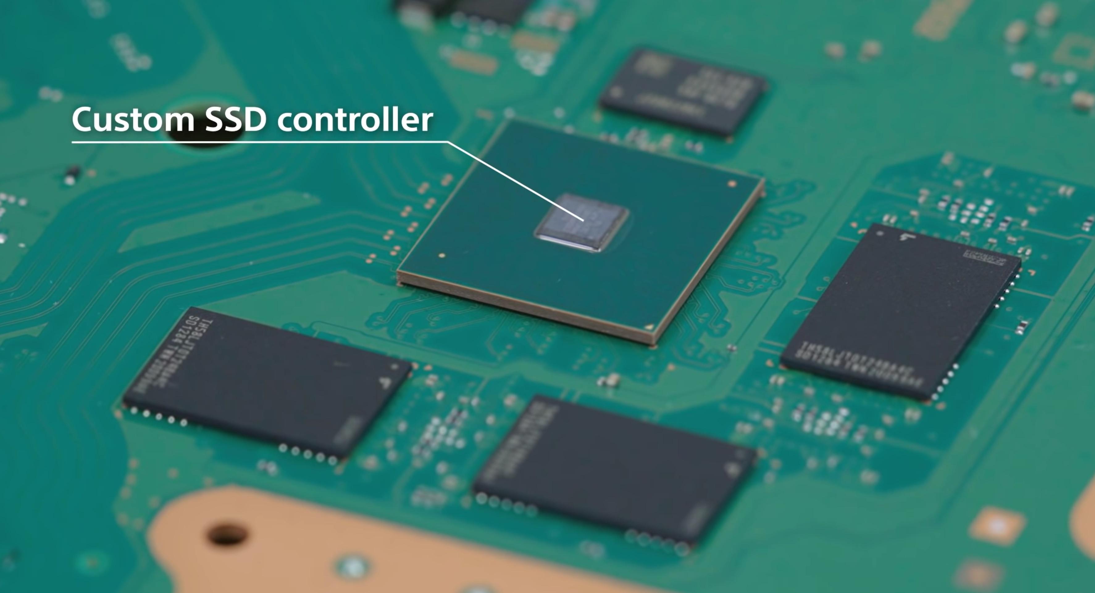 PS5 SSD Custom Controller