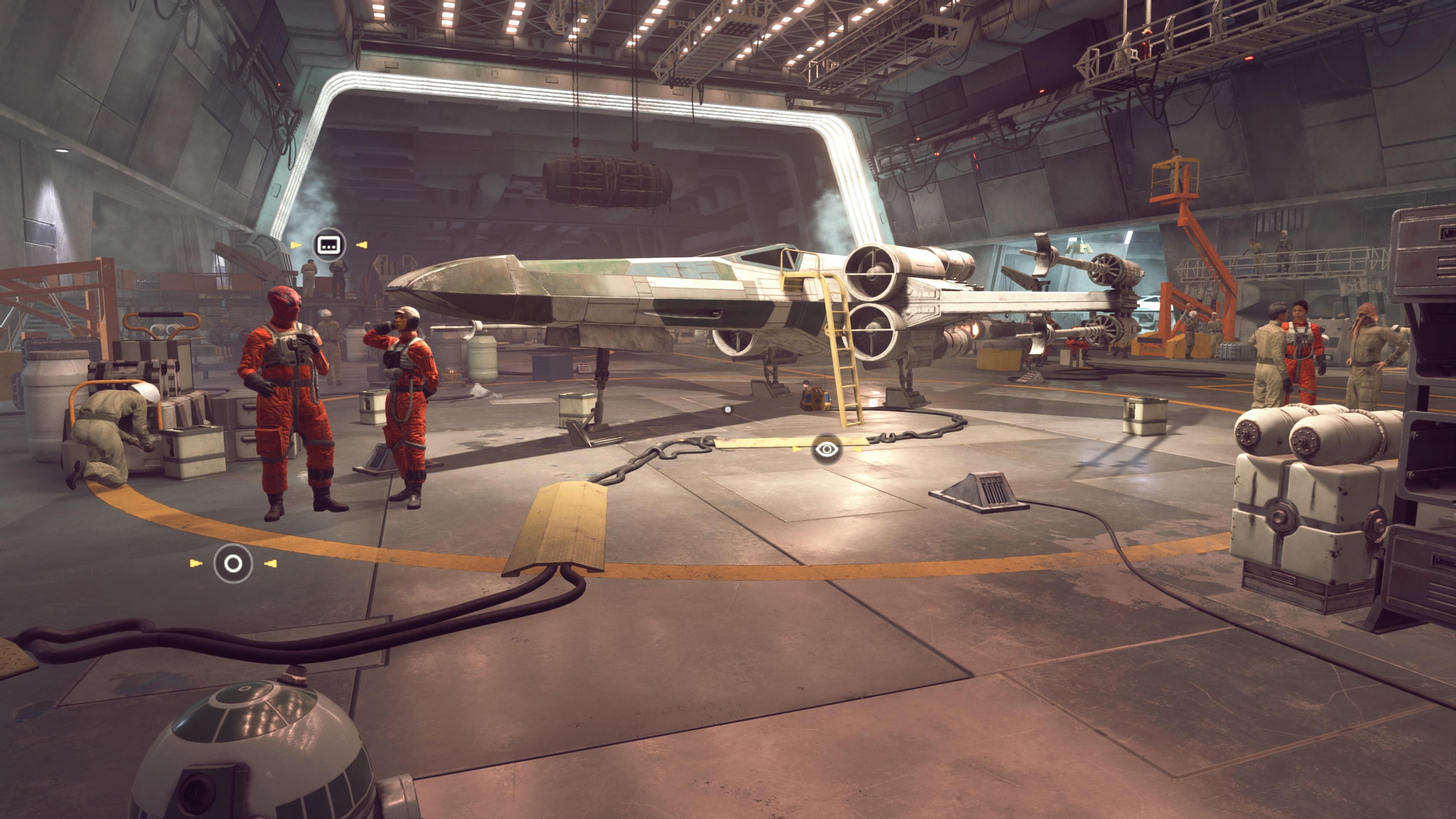 STAR WARS Squadrons On Rails