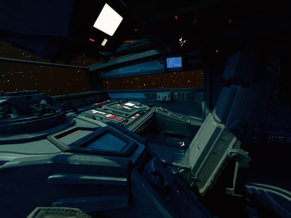 STAR WARS: Squadrons VR Dash