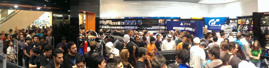 Geekay PS4 Launch