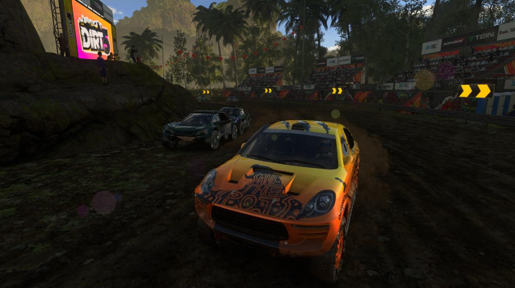 Dirt 5 gameplay