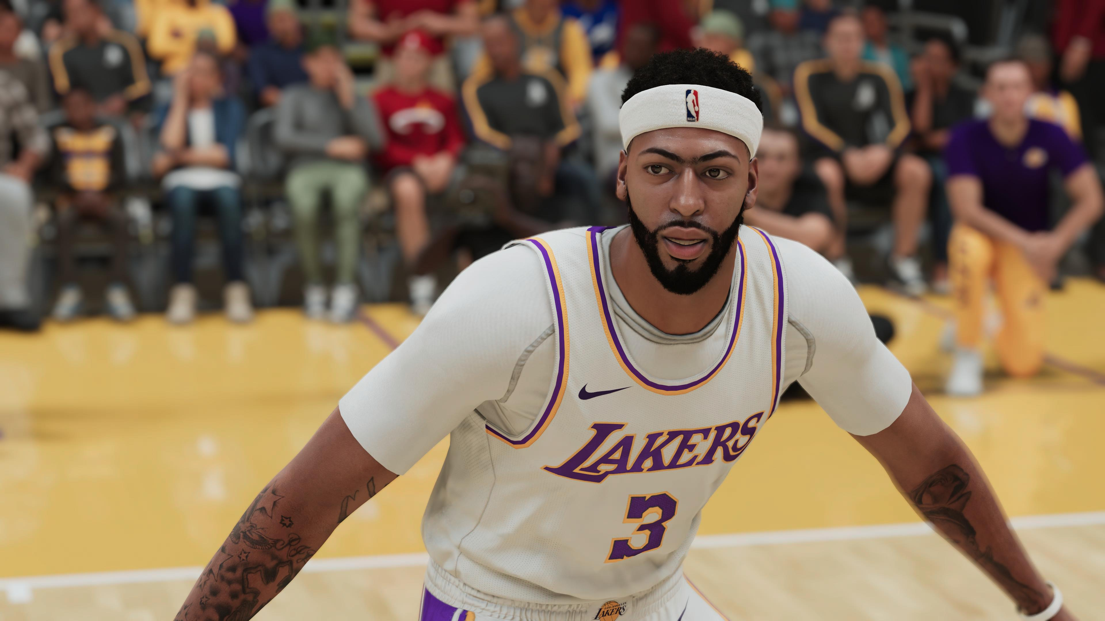 NBA 2K21 Anthony Davis PS5